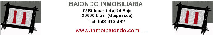 Oferta inmobiliaria de INMOBILIARIA IBAIONDO en fotocasa.es