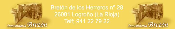 Oferta inmobiliaria de INMOBILIARIA BRETON en fotocasa.es