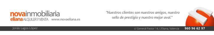 Oferta inmobiliaria de NOVA ELIANA  en fotocasa.es