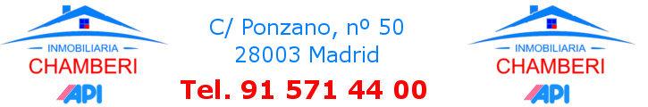Oferta inmobiliaria de INMOBILIARIA CHAMBERI en fotocasa.es