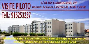 Piso en Alquiler en De Los Cuadros, 49 / Miramadrid