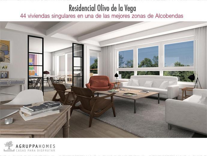 Promoci n de obra nueva en avenida del juncal 2 de arroyo for Jardin de la vega alcobendas
