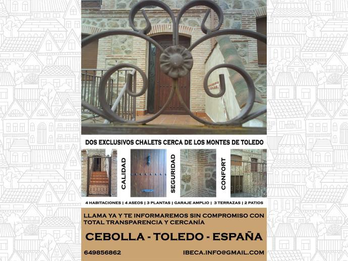 Foto 1 de Chalet en Calle Magallanes 8 / Cebolla