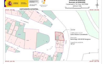 Terrenos en venta en Zaragoza, Zona de
