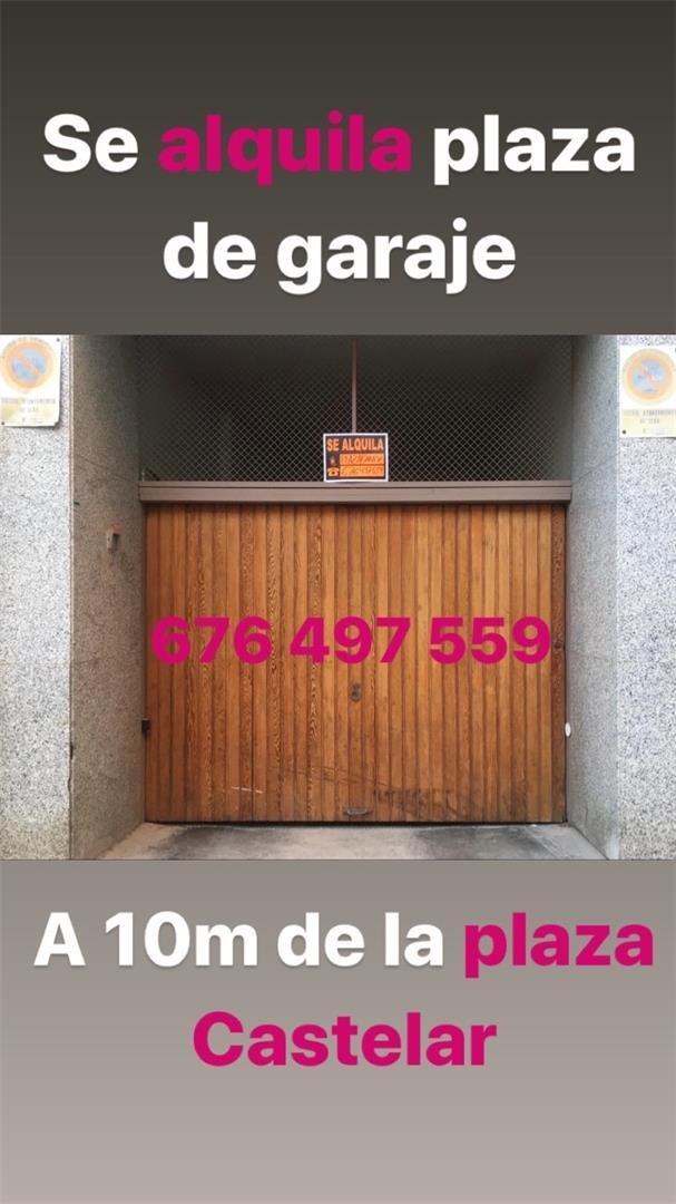 Alquiler Parking coche  Calle pí y margall. Plaza castelar - mercado central - fraternidad / c