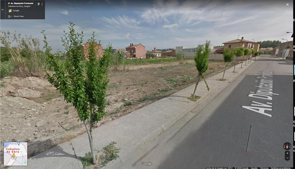 Foto 1 de Terreno en venta en Avenida de la Diputación Provincial, 4 Cabañas de Ebro, Zaragoza