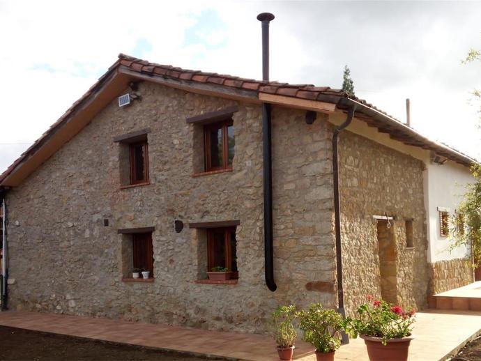 Foto 1 de Finca rústica de alquiler vacacional en Parroquias Sur - La Manjoya, Asturias