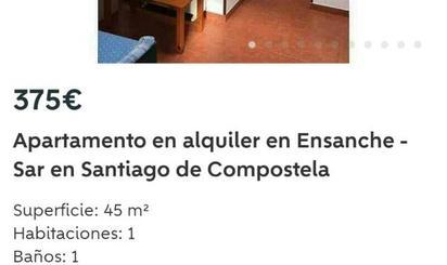 Ático de alquiler en Rúa García Blanco, 9, Ensanche - Sar
