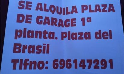 Garaje de alquiler en Plaza Plaza del Brasil, Alcorcón