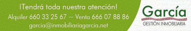 Oferta inmobiliaria de GESTIÓN INMOBILIARIA GARCÍA en fotocasa.es