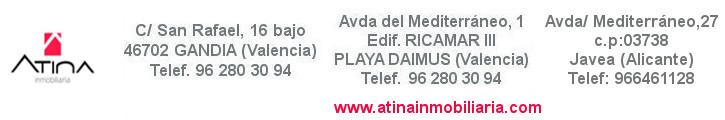 Oferta inmobiliaria de ATINA INMOBILIARIA en fotocasa.es