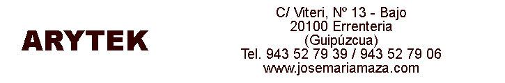 Oferta inmobiliaria de ARYTEK en fotocasa.es