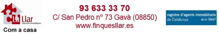 Oferta inmobiliaria de LA LLAR SOLUCIONES IMMOBILIÀRIES en fotocasa.es