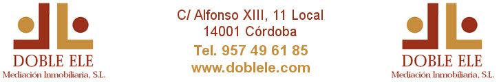Oferta inmobiliaria de DOBLE ELE INMOBILIARIA en fotocasa.es
