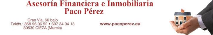 Oferta inmobiliaria de ASESORIA FINANCIERA E INMOBILIARIA PACO PEREZ en fotocasa.es