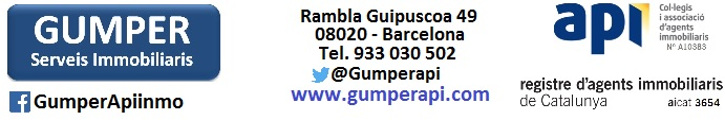 Oferta inmobiliaria de GUMPER en fotocasa.es