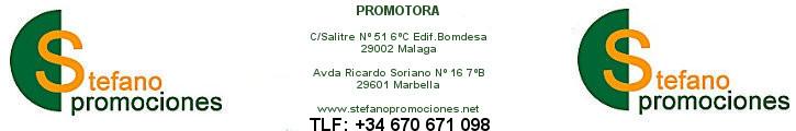 STEFANO PROMOCIONES