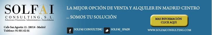 Oferta inmobiliaria de SOLFAI CONSULTING  en fotocasa.es