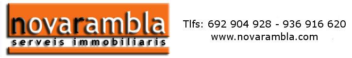 Oferta immobiliària de NOVARAMBLA a fotocasa.es