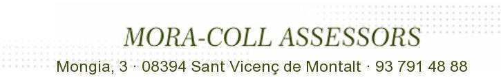 Oferta immobiliària de MORA-COLL ASSESSORS a fotocasa.es
