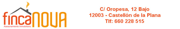 Oferta inmobiliaria de FINCANOVA CASTELLON en fotocasa.es