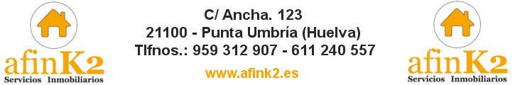 AFINK2 SERVICIOS INMOBILIARIOS