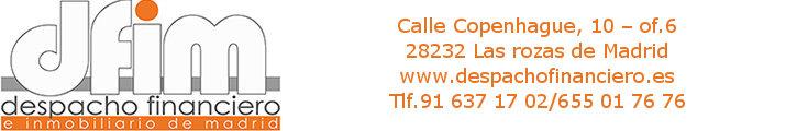 Despacho financiero e inmobiliario de Madrid