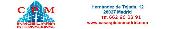 CPM INMOBILIARIA INTERNACIONAL - CASAS PISOS MADRID