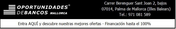 OPORTUNIDADES DE BANCOS MALLORCA