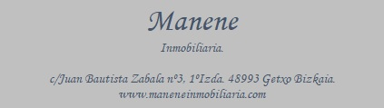 MANENE INMOBILIARIA