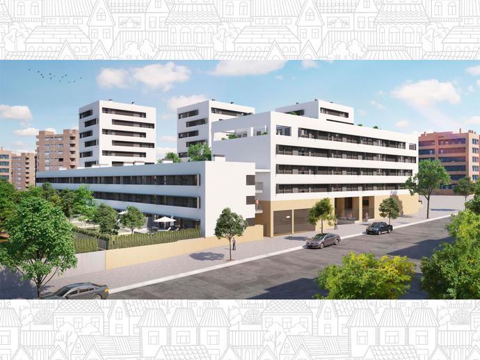 Promoci n de obra nueva en calle rozas de puerto real 6 de for Obra nueva ensanche de vallecas