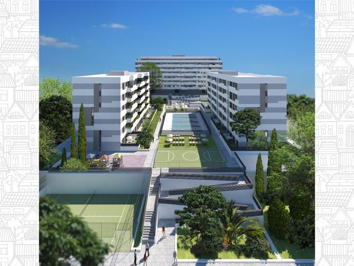 Piso en madrid capital en vic lvaro en plaza vicus albar for Compra de pisos en madrid