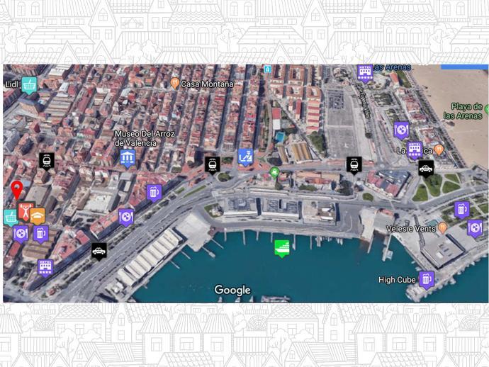 Foto 10 von Strasse Ernesto Anastasio, 7 / El Grau, Poblats Marítims ( Valencia Capital)