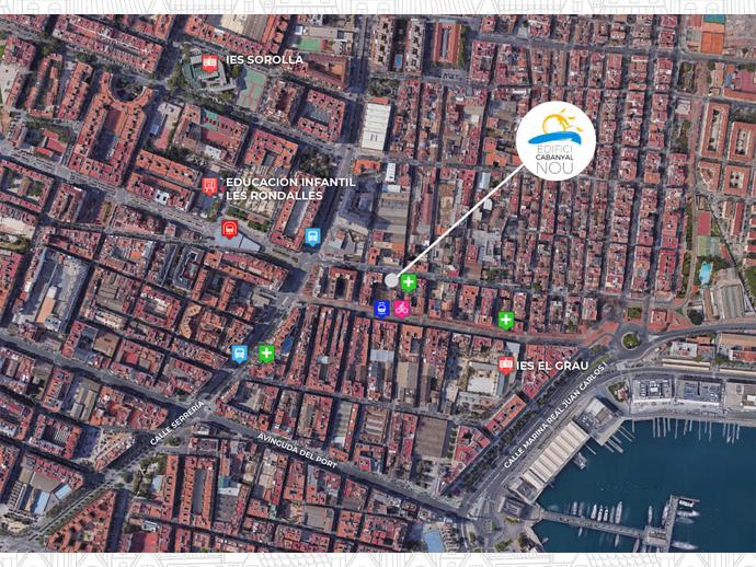 Foto 9 de Carrer MARIÁ CUBER / El Cabanyal - El Canyamelar, Poblats Marítims ( Valencia Capital)