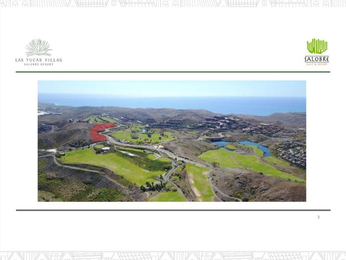 Photo 1 of Parcela en Salobre Golf / El Tablero - El Salobre, San Bartolomé de Tirajana