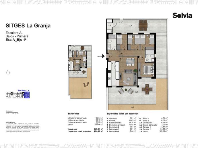 Foto 11 de C/ Escripto Josep Roig Raventós Nº 28 ,  / Can Girona - Terramar - Vinyet, Sitges ciudad (Sitges)