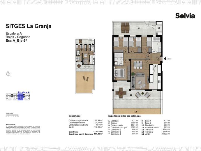 Foto 12 de C/ Escripto Josep Roig Raventós Nº 28 ,  / Can Girona - Terramar - Vinyet, Sitges ciudad (Sitges)