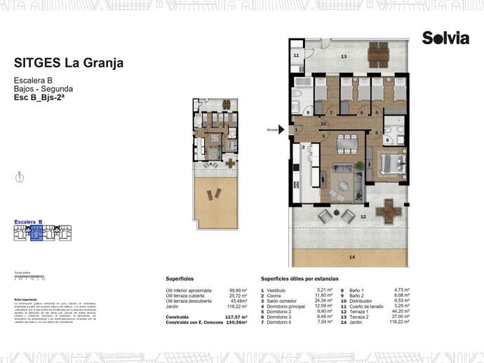Foto 18 de C/ Escripto Josep Roig Raventós Nº 28 ,  / Can Girona - Terramar - Vinyet, Sitges ciudad (Sitges)