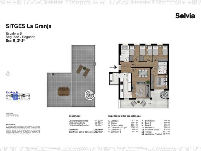 Foto 22 de C/ Escripto Josep Roig Raventós Nº 28 ,  / Can Girona - Terramar - Vinyet, Sitges ciudad (Sitges)