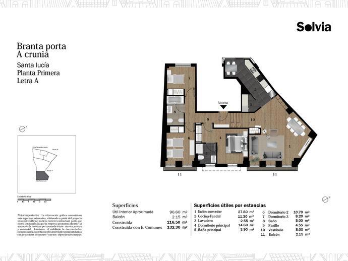 Foto 7 von C/ Fernández Latorre Nº 28-30 y 32-34 ,  / Cuatro Caminos - Plaza de la Cubela (A Coruña Capital )