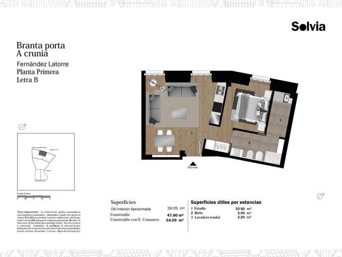 Foto 8 von C/ Fernández Latorre Nº 28-30 y 32-34 ,  / Cuatro Caminos - Plaza de la Cubela (A Coruña Capital )