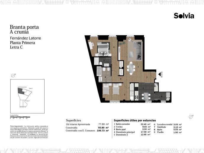 Foto 9 von C/ Fernández Latorre Nº 28-30 y 32-34 ,  / Cuatro Caminos - Plaza de la Cubela (A Coruña Capital )